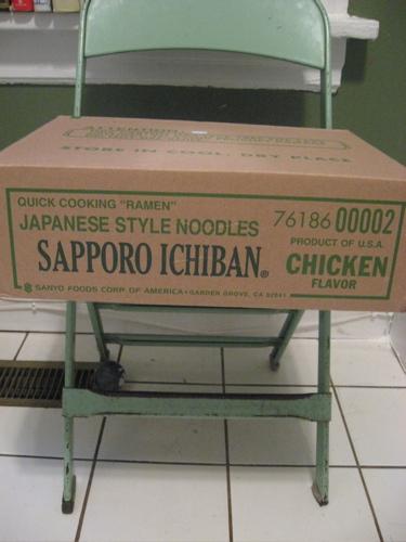 Sapporo ramen box