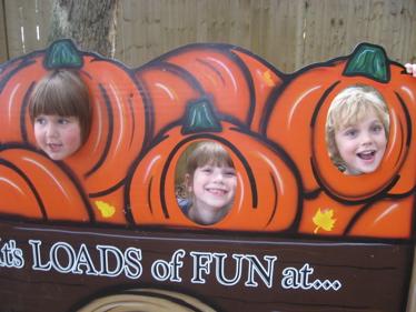 County line pumpkin heads