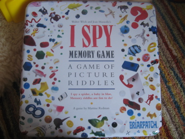 I spy game box