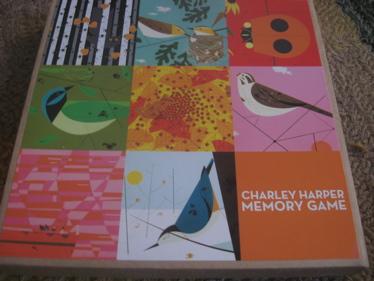Charley harper memory game