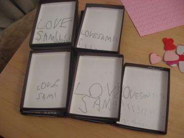 Love, Sam !!!!