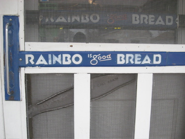 Rainbo bread door