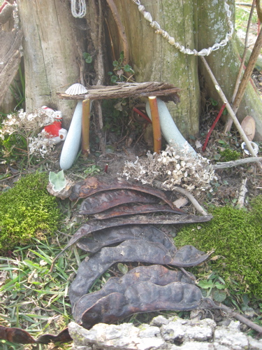 Fairy house doorway