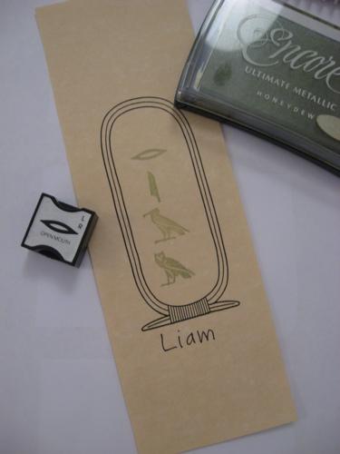 Cartouche liam
