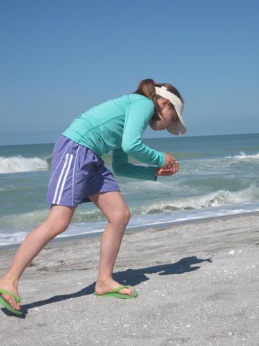 Dassah on the beach