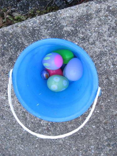 Ben's easter egg bucket