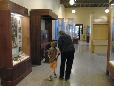 Sam and carol k at museum
