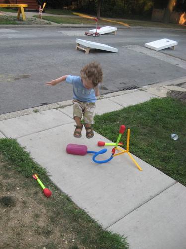 Block party stomp rocket