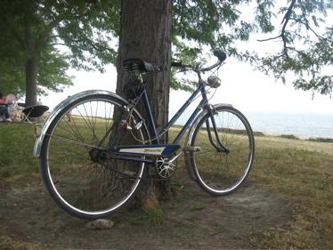 Bike at the lake