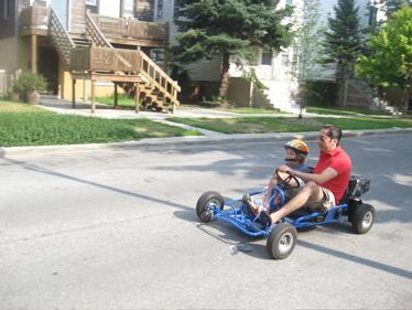 Block party go cart