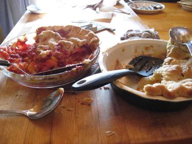 Pie the next day