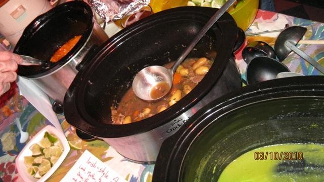 Soup at hideout