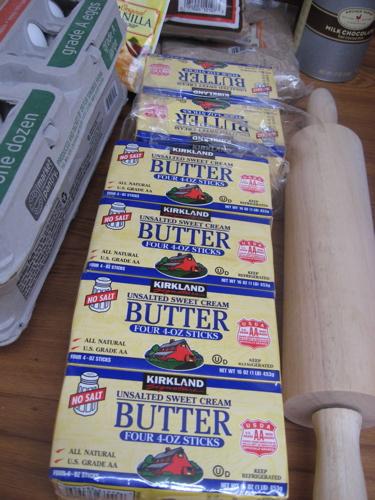 Butter at binth