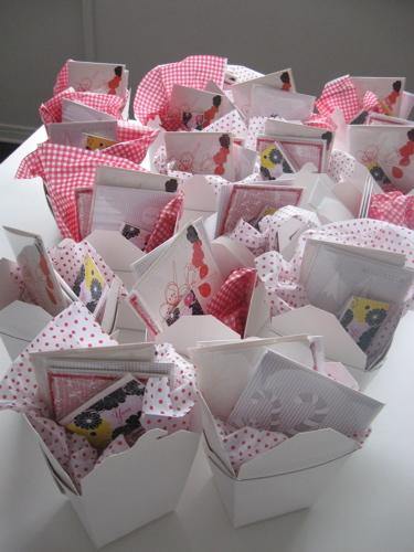 Binth favor boxes