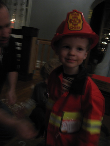 Fire chief happy