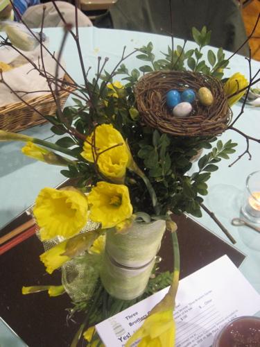 Daffodils and chili