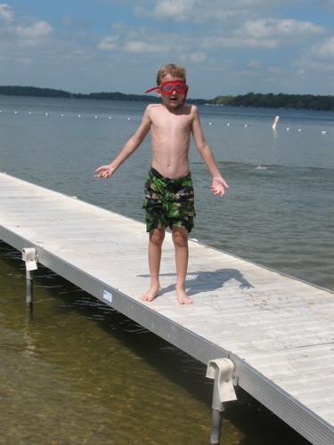 Sam and dock