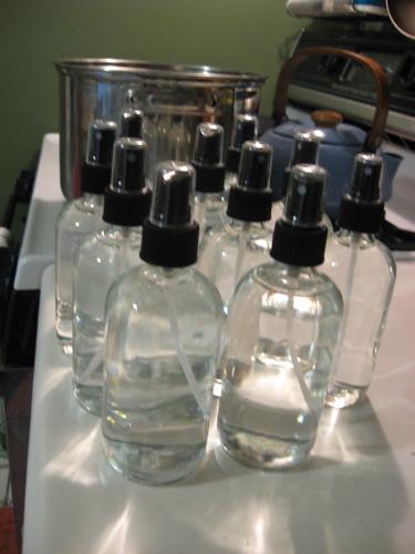 Spritzer bottles