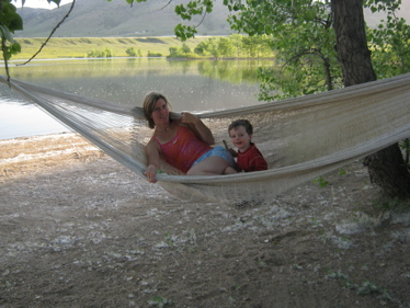 Jen and ben hammock