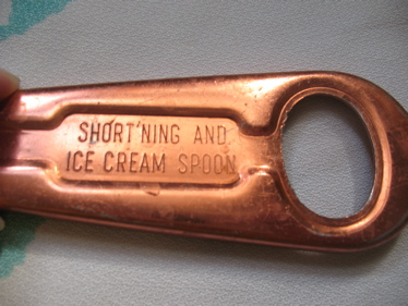 Short'ning spoon