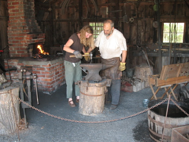 Blacksmithing in indiana