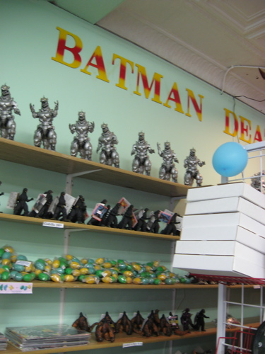 Godzillas on shelf