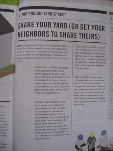 Good yard page