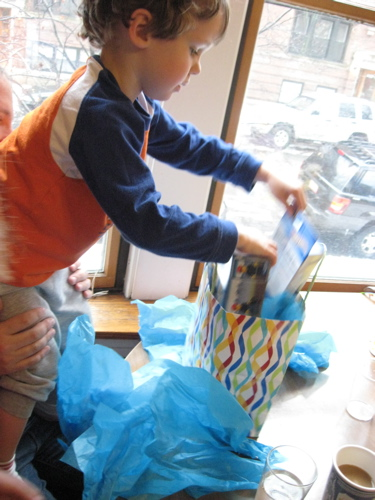 Ben opening present