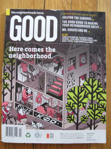 Good mag cover