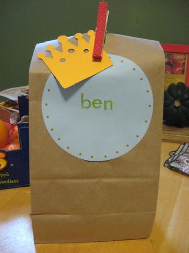 Ben goody bag