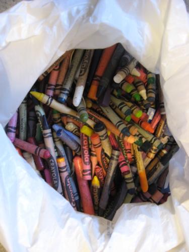 Bag o crayons