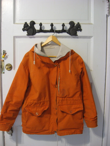 Orange british jacket