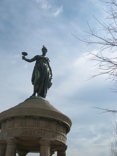Joseph rosenberg statue