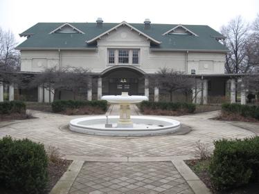 Fuller park courtyard