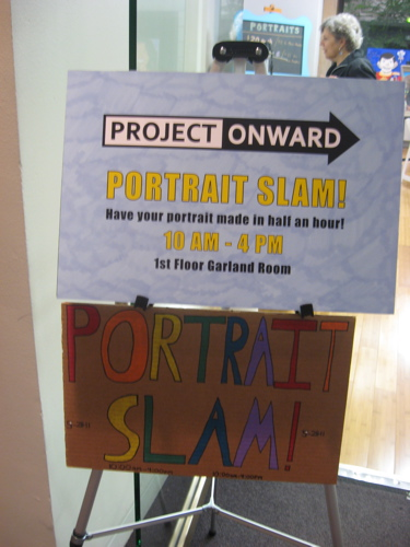 Portrait slam poster