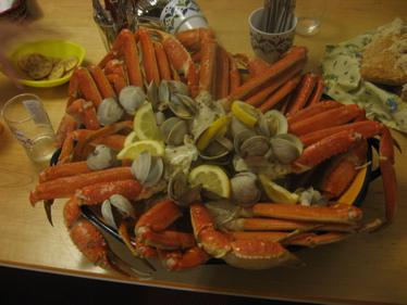 Crab legs 2