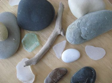 Rocks that came home