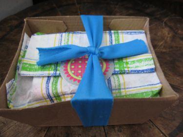 Wrapped mushroom box