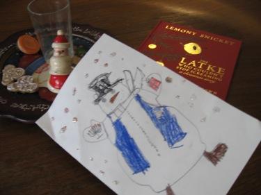 Sam's snowman card