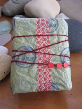 Wrapped pear paper