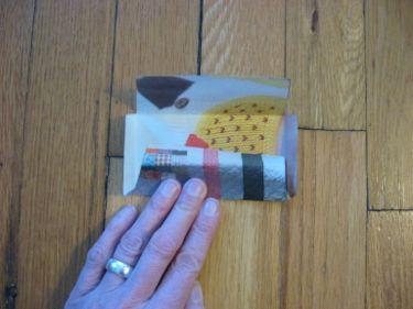 Mini envelope fold