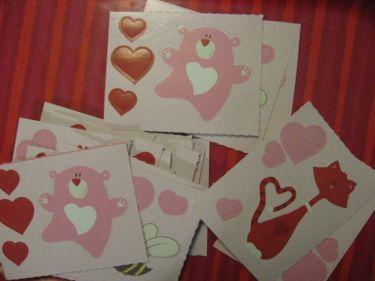 Vday stickers