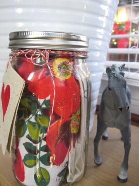 Wrapped ball jar