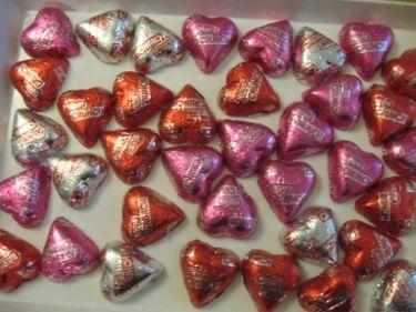 Vday crunch hearts
