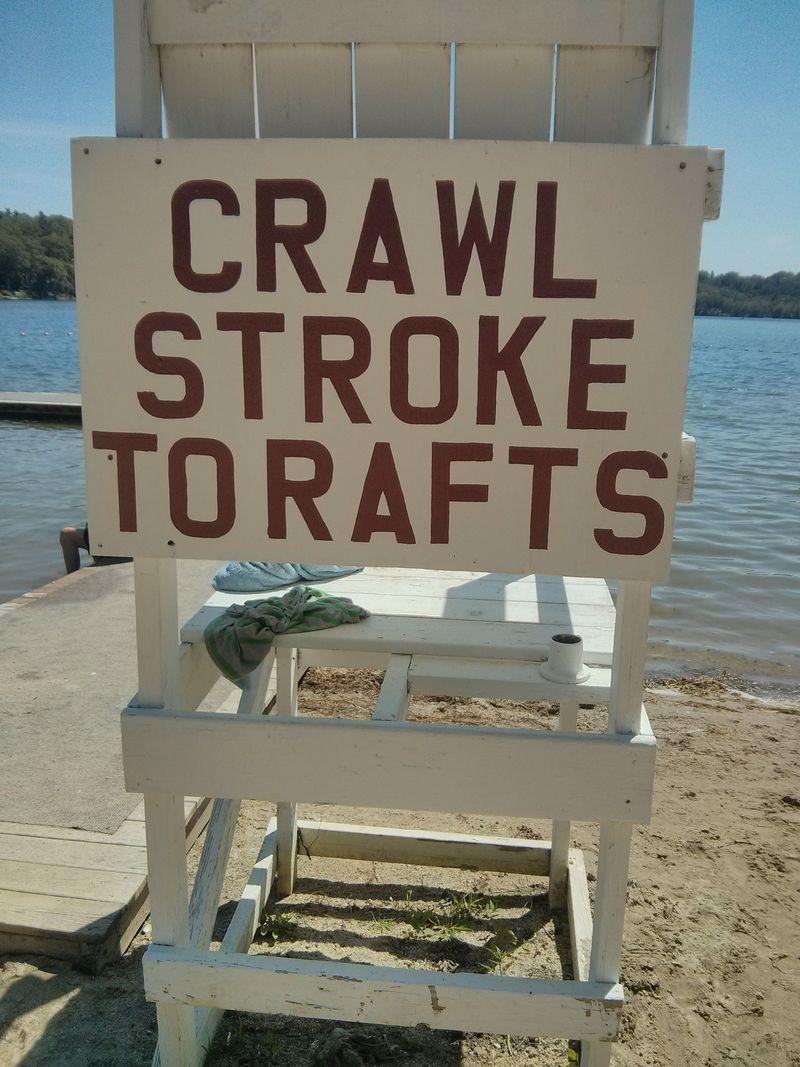 RT13 - Crawl stroke