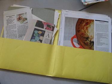 Yellow_recipe_folder